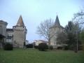 Chateau  et Eglise Saint Etienne