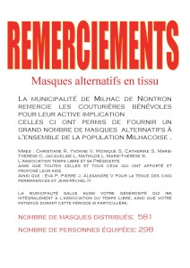 AFFICHES REMERCIEMENTS MASQUES 3