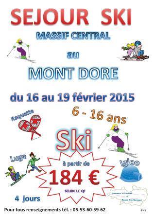 affiche ski 2015 c