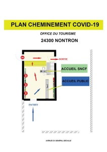 plan cheminement OT Nontron