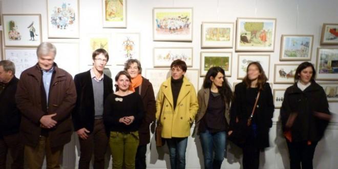 Une expo autour de l'illustration jeunesse