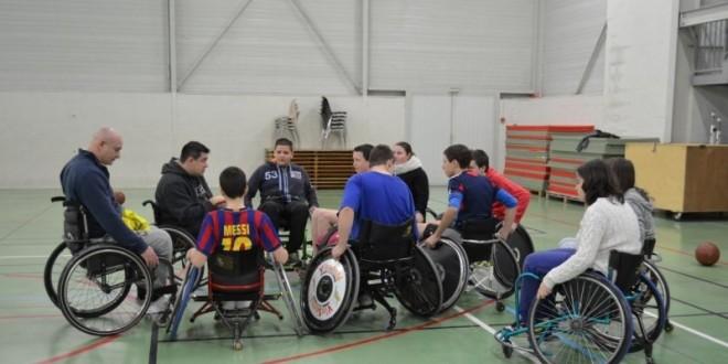 Les jeunes sensibilisés au handicap