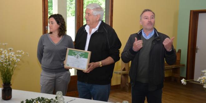 Saint Front sur Nizonne : le label  « territoire bio engagé »