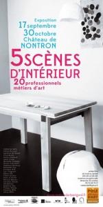 5 SCENES D INTERIEUR , 20 professionnles d'art