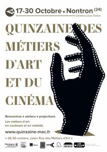 Quinzaine des Metiers d'Art et du Cinema
