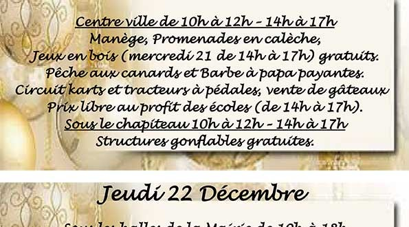 Fête de Noel à Nontron