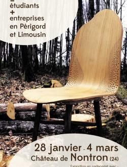 Exposition : Création bois, étudiants + entreprises en Périgord et Limousin