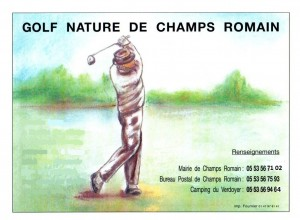 golf nature de Champs Romain - Copie