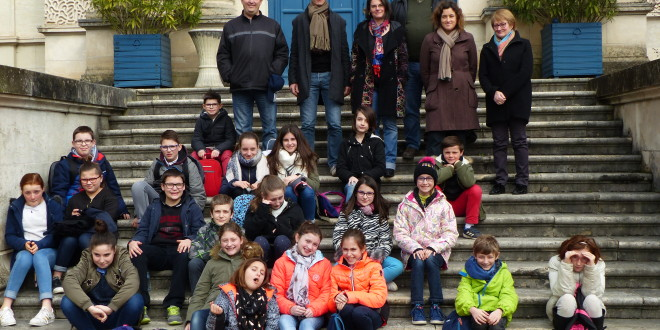 Le Conseil Intercommunal d'Enfants (CIE) en visite au Conseil Départemental