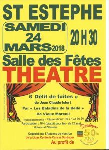 Affiche Théatre