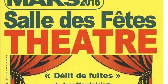 Soirée Théâtre ''Délit de fuites''