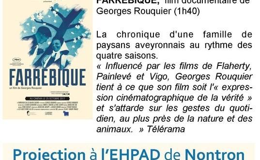Ciné Qua Non: du cinéma à l'EHPAD