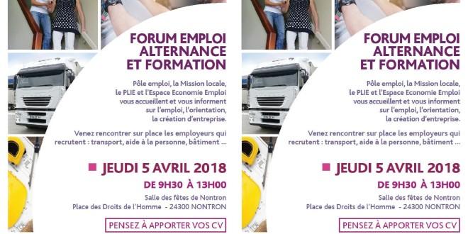 Forum « Emploi, Alternance et Formation »
