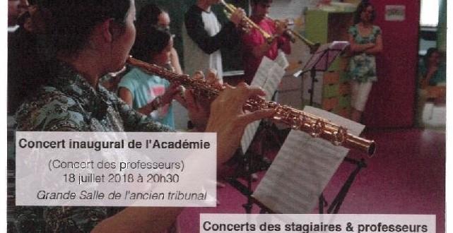 L'Académie Musicale en Périgord Vert de Nontron