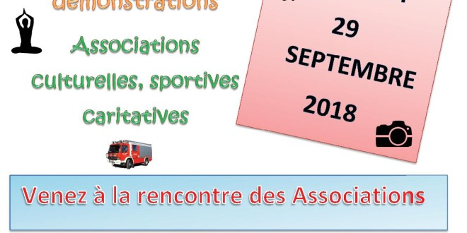 1ER FORUM INTERCOMMUNAL DES ASSOCIATIONS
