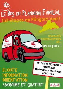 Affiche Bus PF A3 Nontron