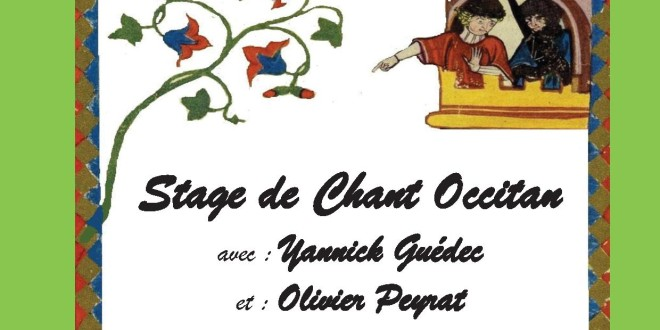 Stage de chants occitans