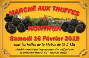 Marché aux truffes 16 février 2019 site