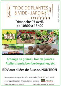 Troc plantes NONTRON 2019