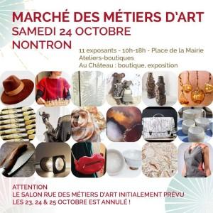 Marché metiers d'art 24 10 2020