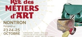 11e Salon Rue des Métiers d'Art à Nontron – 23, 24 et 25 octobre 2020