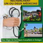 Affiche recherche medecin definitive