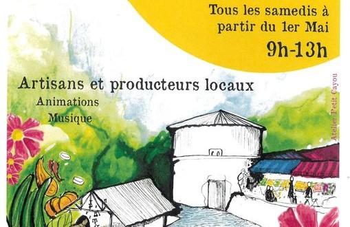 Premier marché hebdomadaire à Saint Front la rivière