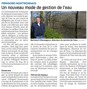 article sudouest gestion de l eau